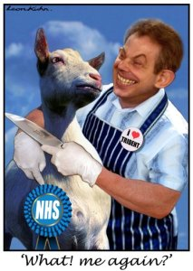 nhs cut throat by Blair
