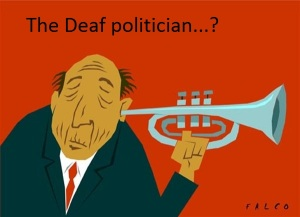 Deaf Politician