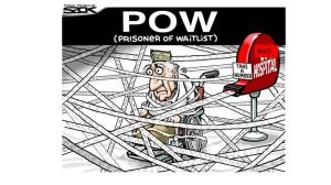 Waiting list prisoner