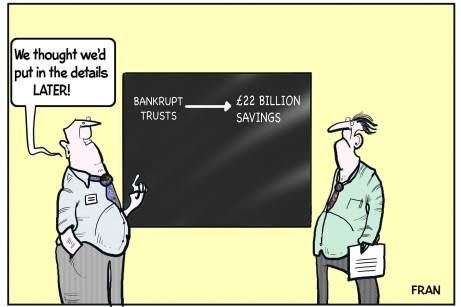 Bancrupt Trusts