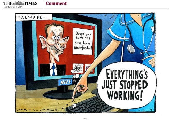 Image result for no hope service cartoon NHS