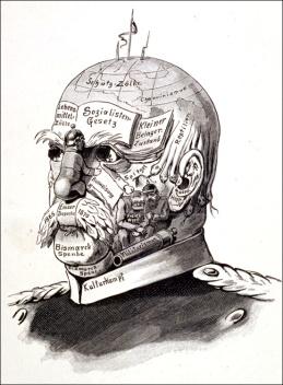 Image result for bismarck social care cartoon