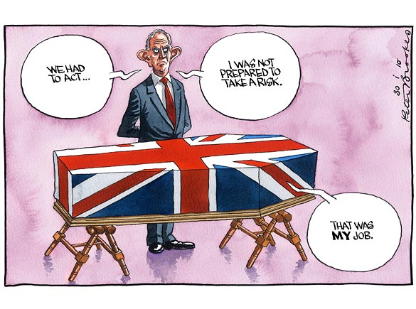 Cartoon: Blair's War - The English Blog